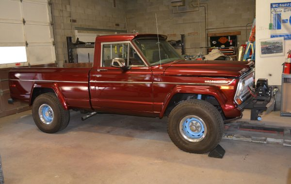 1976 Jeep (AMC) J10 Restoration
